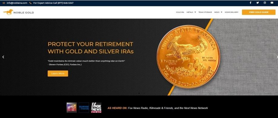 Gold IRA Company Reviews Goldco website
