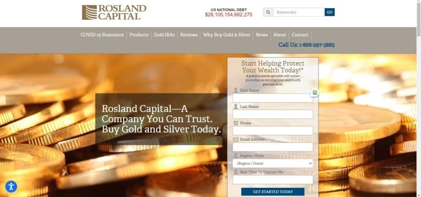 Rosland Capital Website