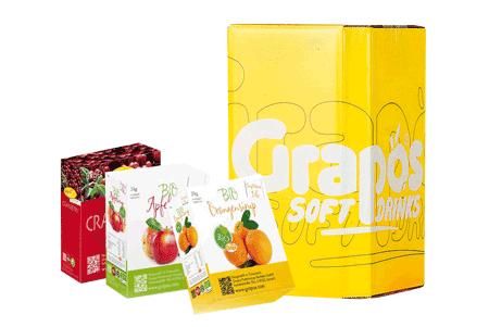 Bag-in-Box verpakkingen vruchtensap