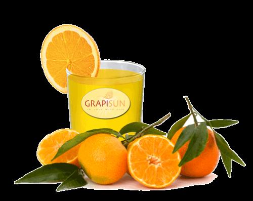 Jus d'Orange ontbijtbuffet GrapiSun vruchtensap