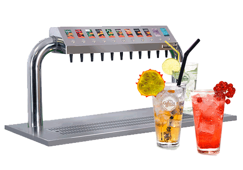 Vitamindrinks en innovatieve dispensers Grapos