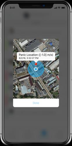 applicatie virtuele paniekknop