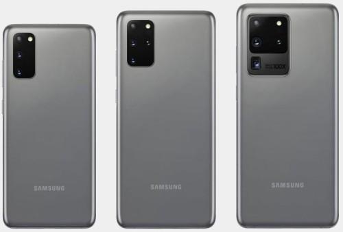 Samsung S20 modellen