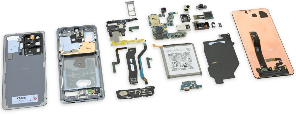 Samsung S20 reparatie onderdelen