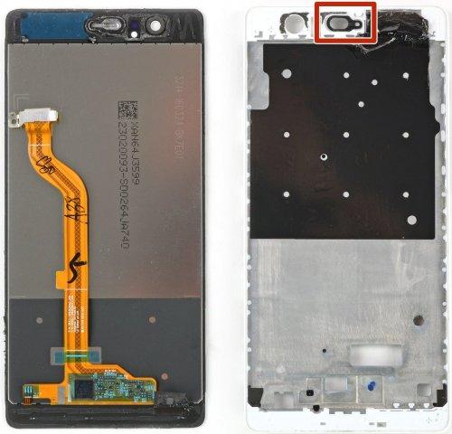 Huawei P9 scherm zonder frame
