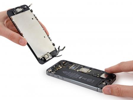 glas iphone 5 se vervangen