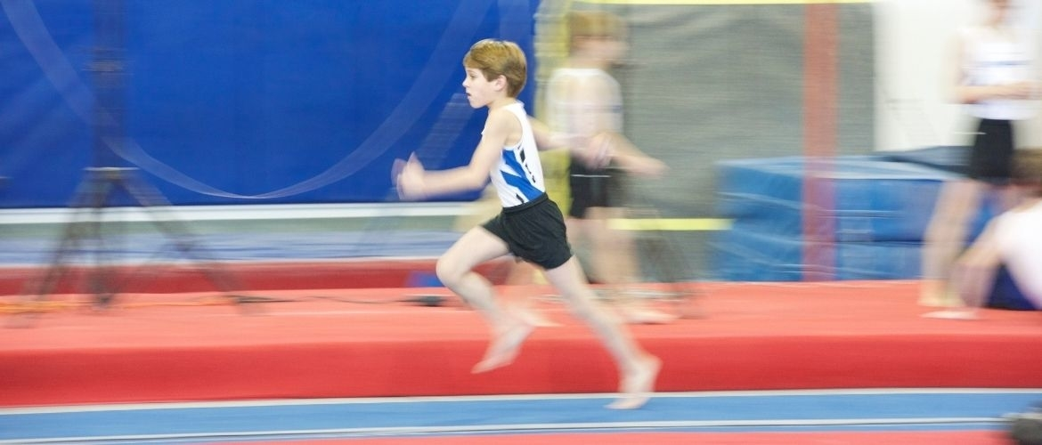 Running and sprinting in gymnastics, tips for trainers