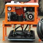 Vacuüm hijsunit 3000 kg hefvermogen, dieselmotor(D) elektrisch startend(E) radiografische afstandsbediening(R)
