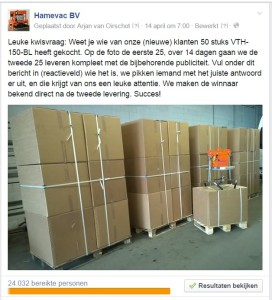 50x VTH-150-BL | Hamevac | kwis Boels Rental