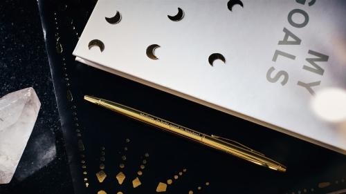 Gouden pen