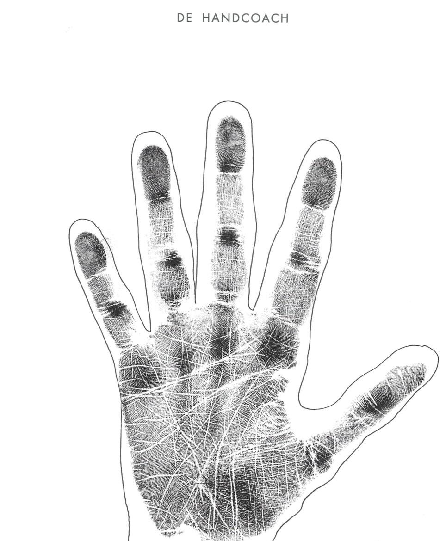 Drukke hand