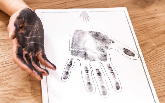 Handafdrukken maken
