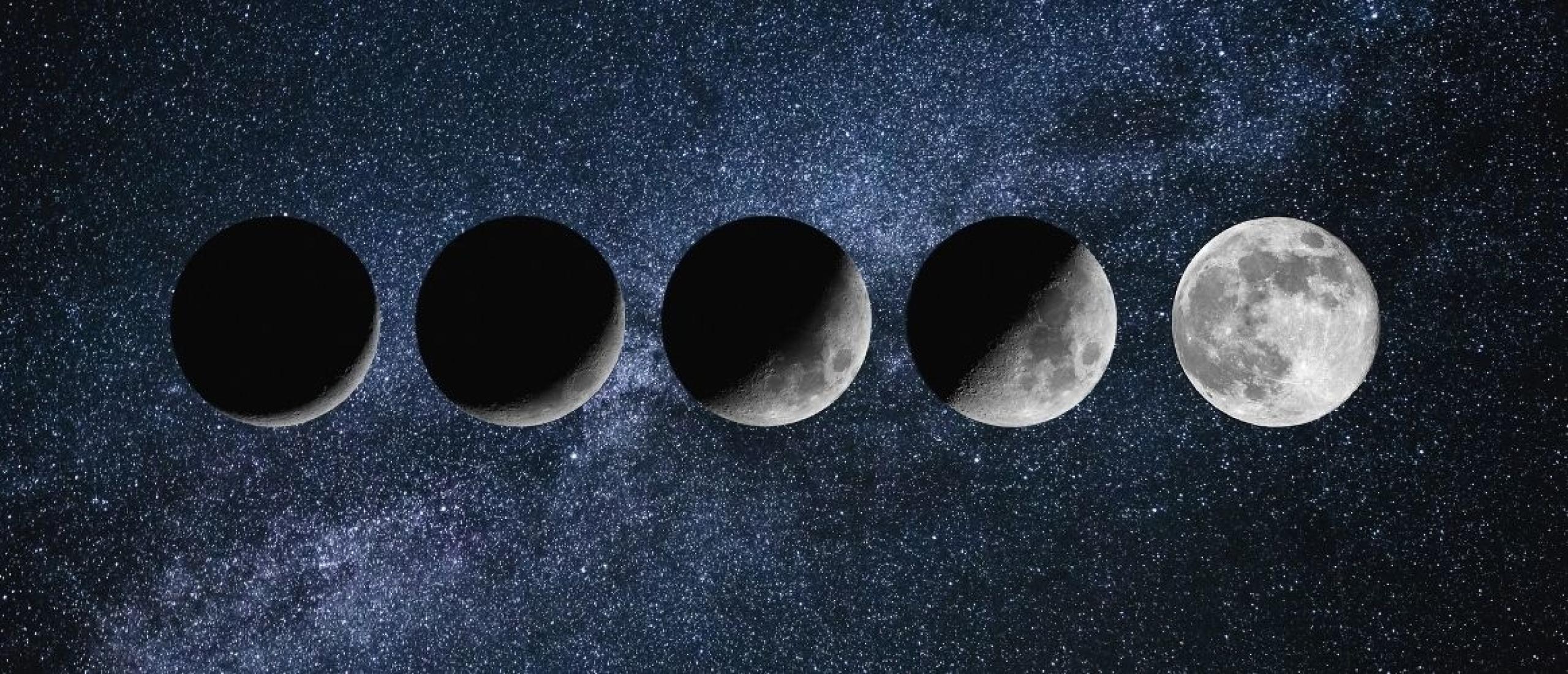 De maanfase tijdens jouw geboorte