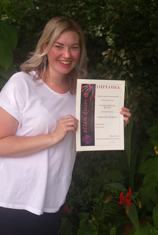 Diploma handlezen