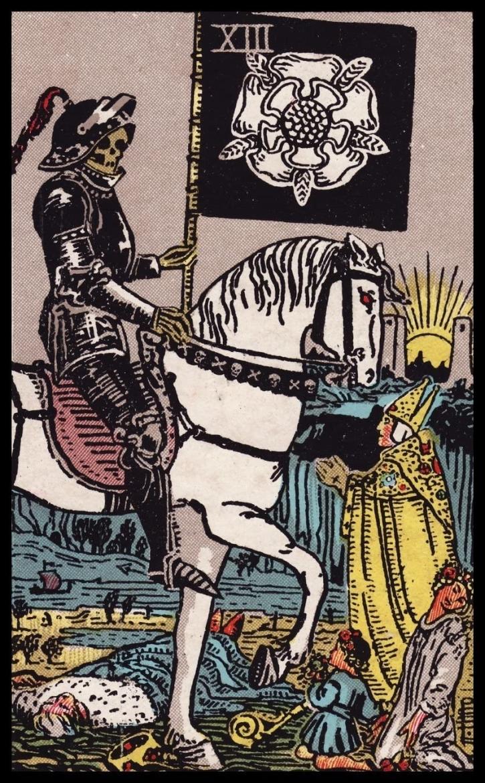 Tarotkaart 13 - de dood