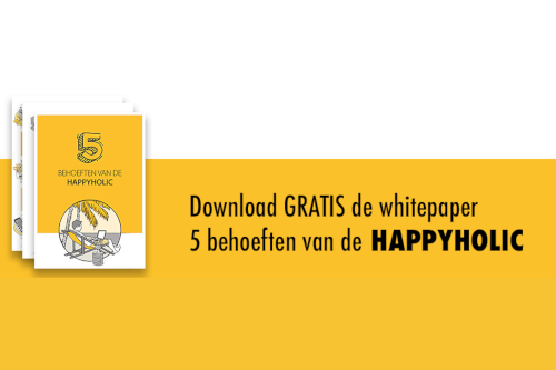 Download de Whitepaper over de 5 behoeften van de Happyholic