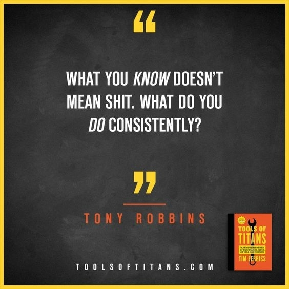 Geen ambitie? Zorg consequent voor inspiratie!