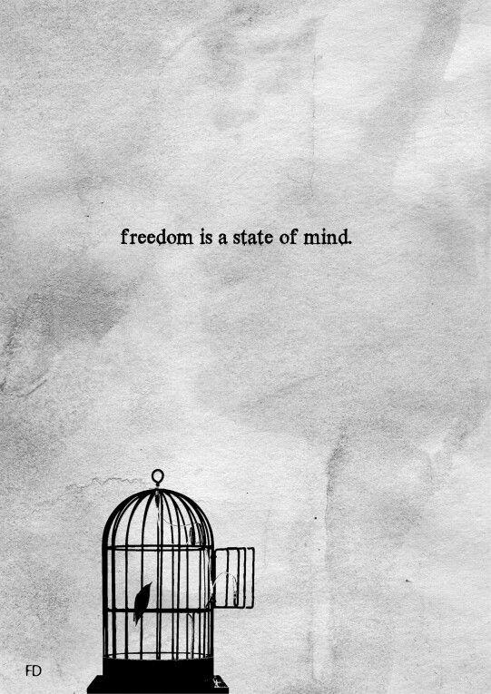 Vrijheid is mindset