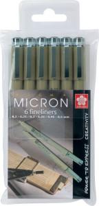 micron fineliners watervast
