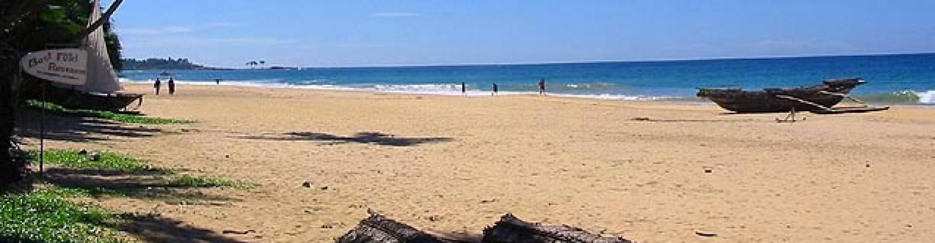 Geen toeristen lege stranden HBU training en advies