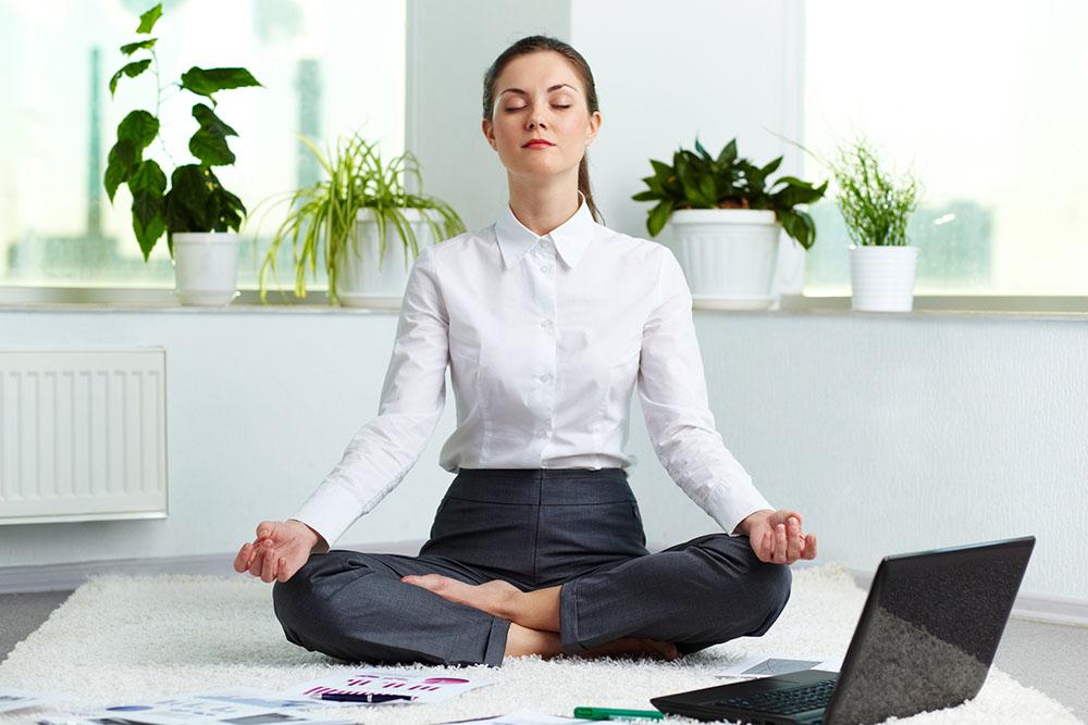 Mediteren helpt tegen stress