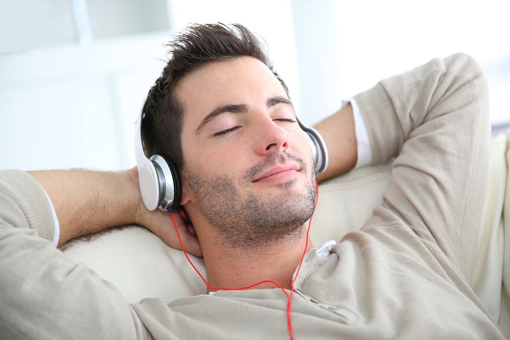 Muziek helpt tegen stress