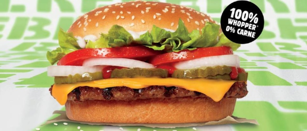 Burger King komt met veganistische hamburger de Rebel Whopper