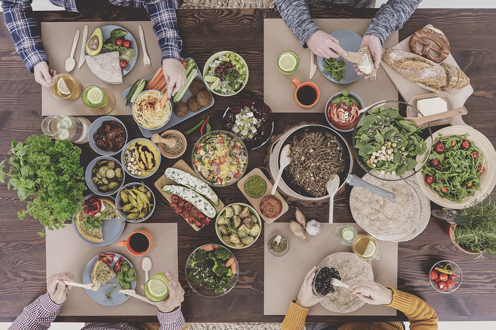 Vegetarisch uit eten