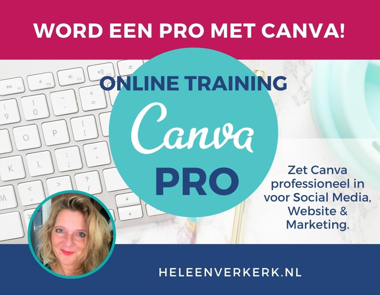 canva training promotie