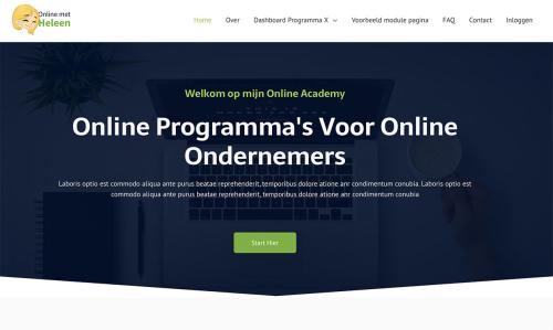 online met heleen homepage
