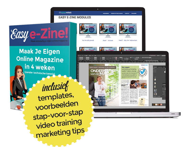 Maak je eigen online magazine
