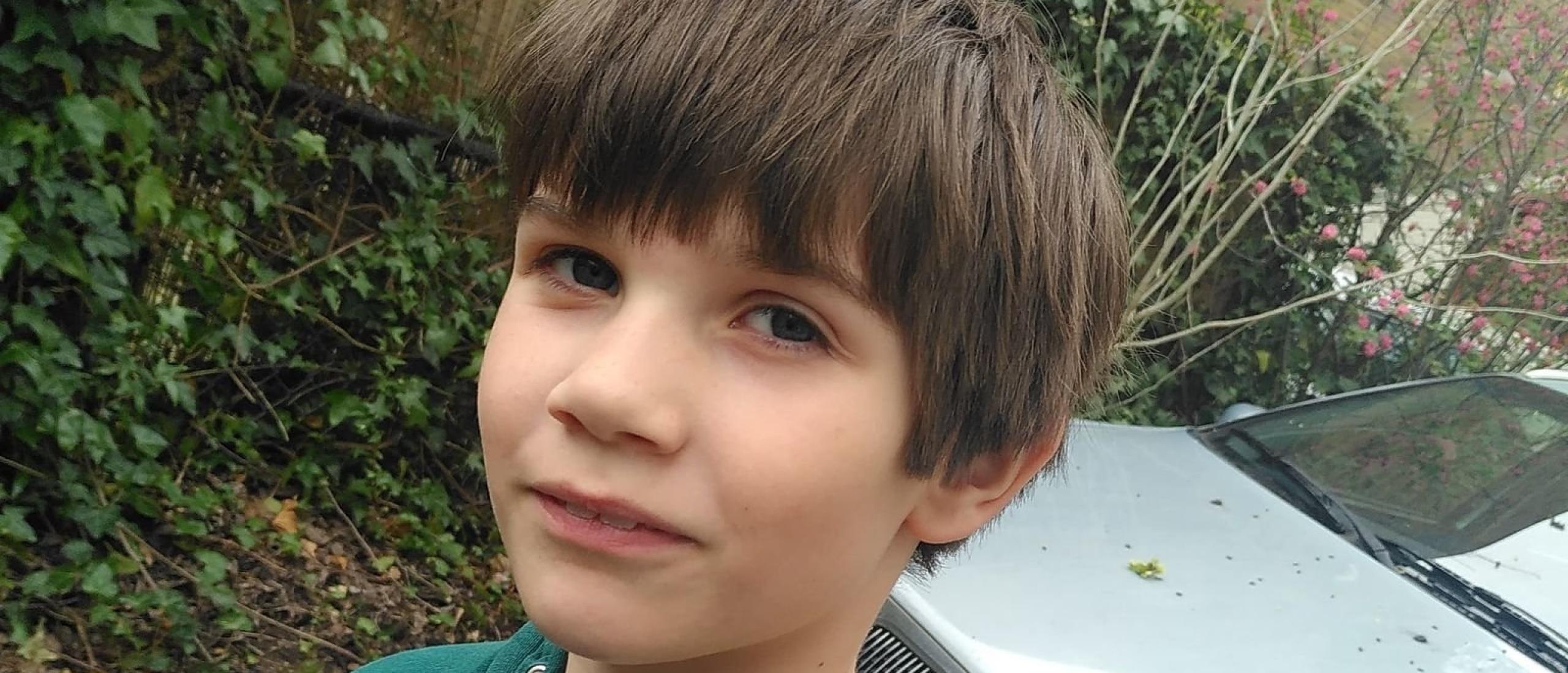 De kindertijd van Lucas - 7 jaar