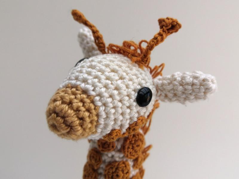 patroon gehaakte giraf