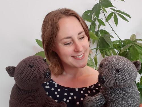 wombat knuffel haken