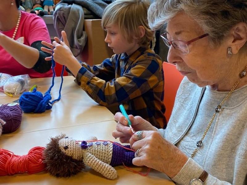 leer haken voor jong en oud