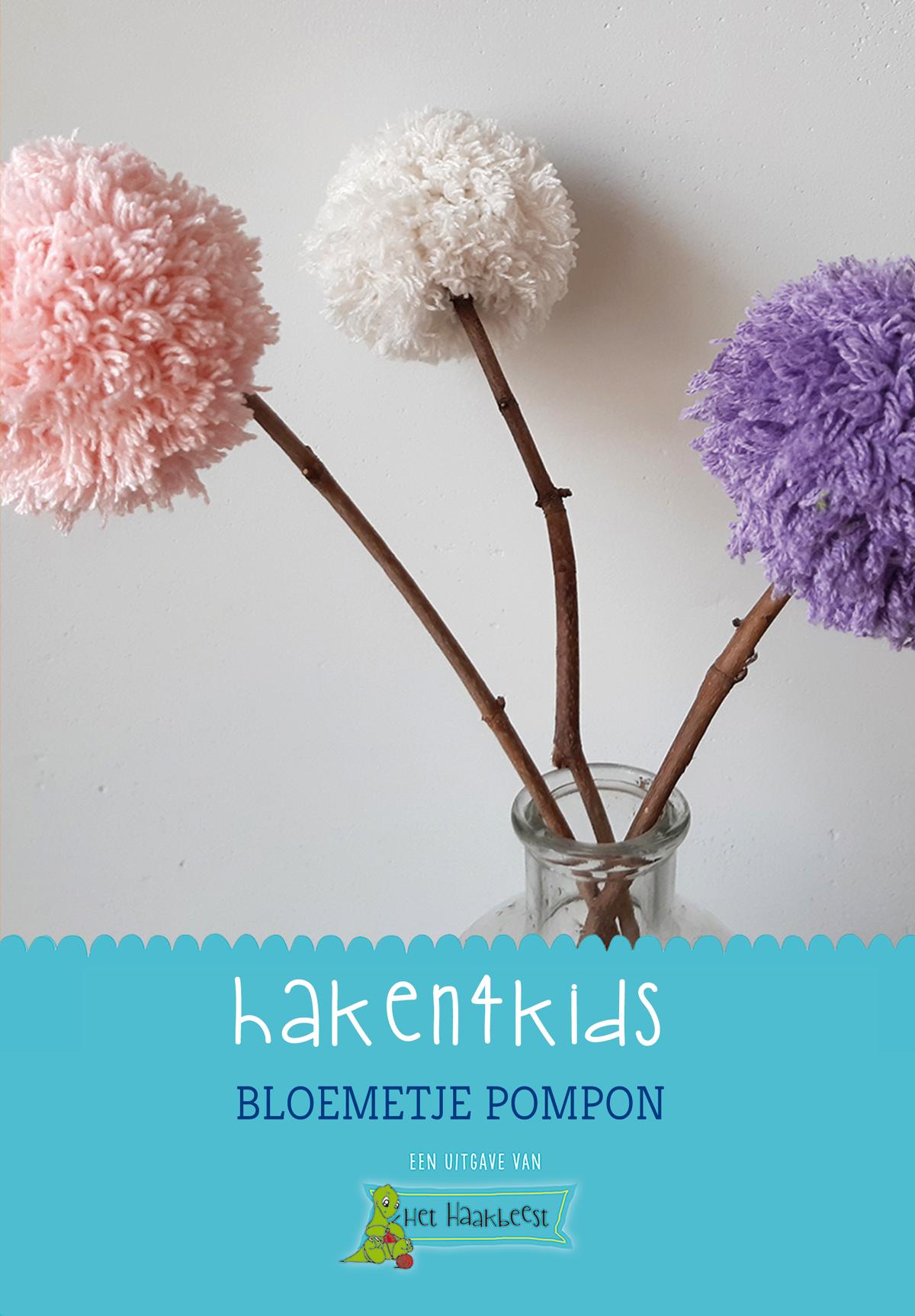 Kinderen bloemetje laten maken