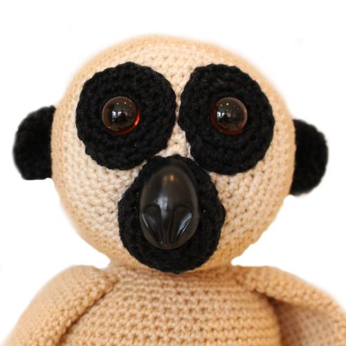 gehaakte gibbon