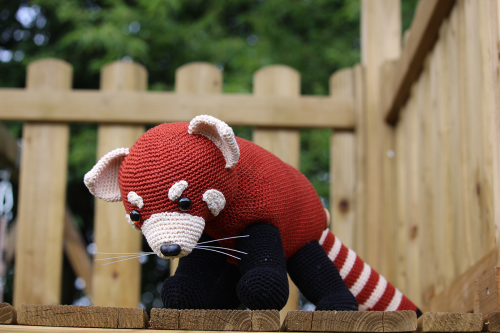 rode panda haakpatroon
