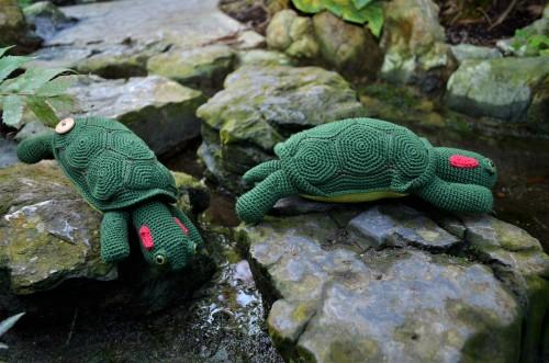 schildpad haakpatroon