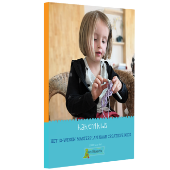 boek leer haken kind