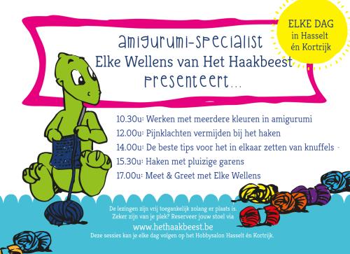 Hobbysalon Hasselt en Kortrijk