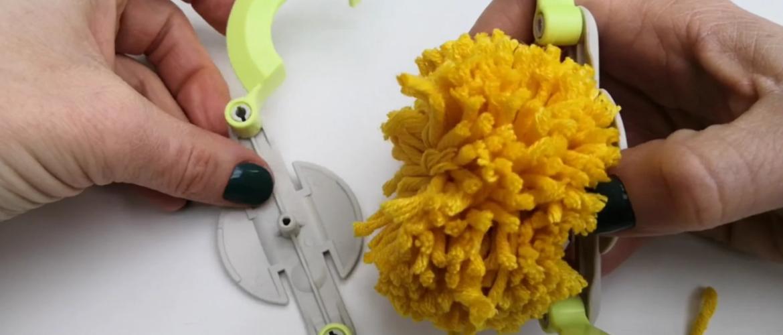 Eenvoudig en kindvriendelijk een pompon maken