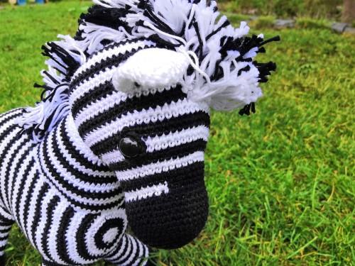 zebra haakpatroon