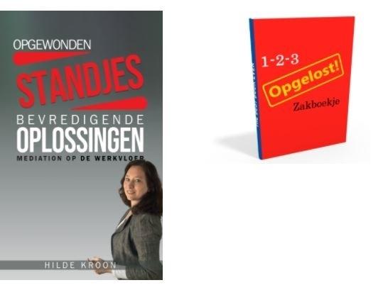 boeken over de toepassing van mediation in dagelijkse en conflict situaties