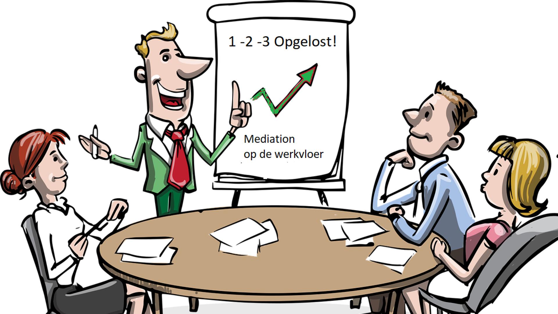 Mediation op de werkvloer