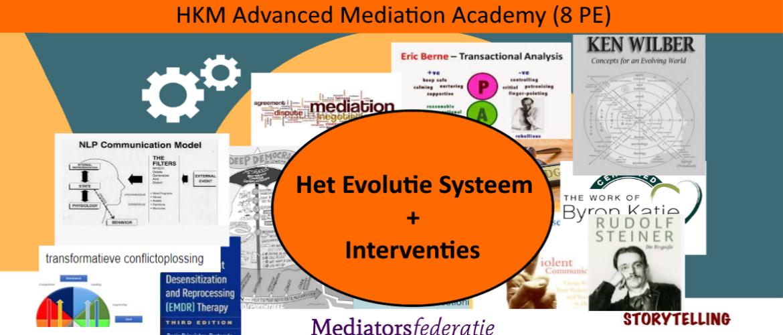 PE punten toegekend aan HKM Advanced Mediation Academy (8 PE)