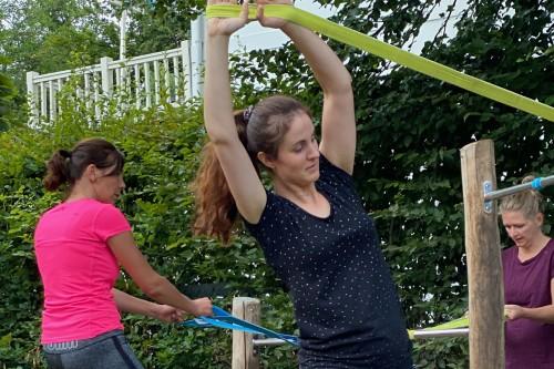 Trainingen voor moeders met aandacht voor diastase, buikspieren herstel