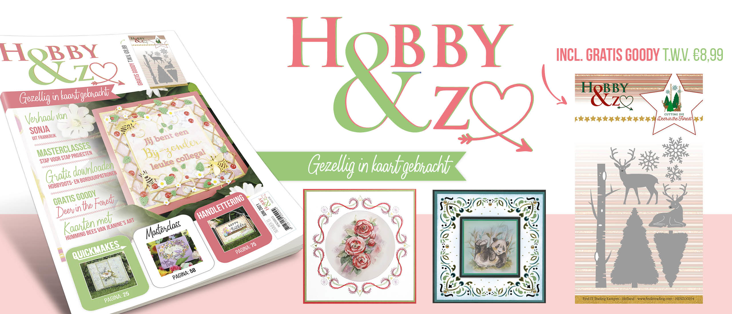 Hobby&Zo 13 is verkrijgbaar