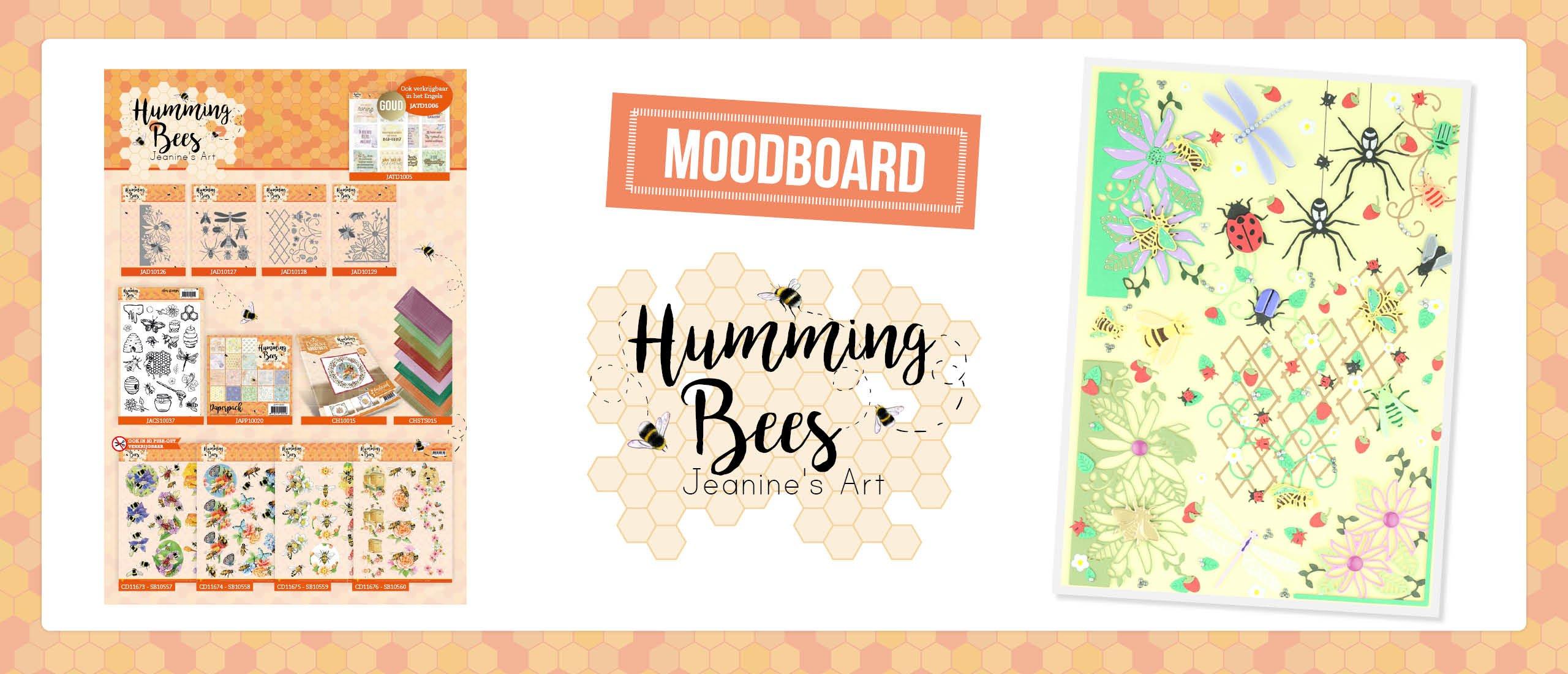 Moodboard jeanine's Art - Humming Bees