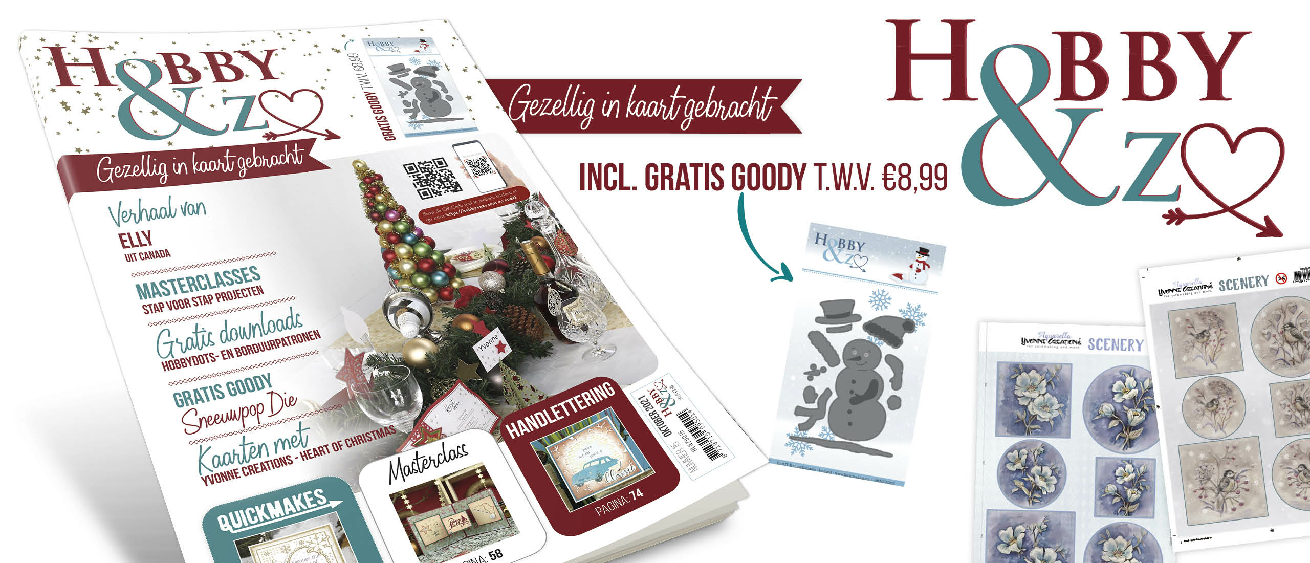 Hobby&Zo 15 is nu verkrijgbaar